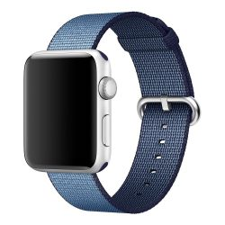 Apple watch woven nylon band navy 2 250x250