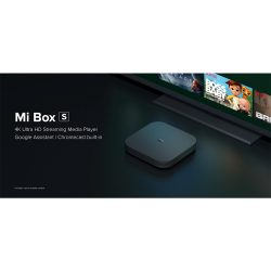 Xiaomi Mi Box S - 4K HDR Android with Chromecast Built-In