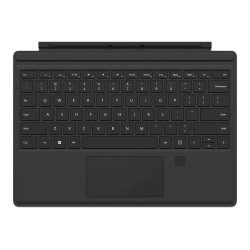 Surface Pro 4 Type Cover with fingerprint reader Black 250x250