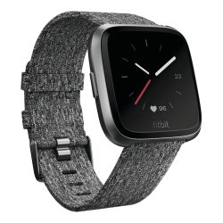fitbit versa wooven charcoal 250x250